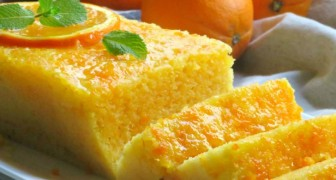 This delicious orange sponge cake is prepared in the microwave in just 5 minutes!