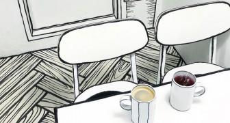 Questo caffè di Seoul vi farà provare la sensazione di vivere dentro ad un fumetto