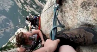 An amazing climbing adventure