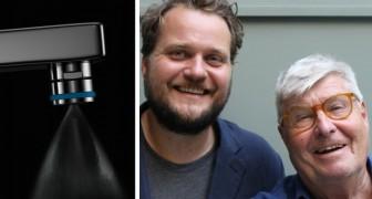 Ein Professor erfindet zusammen mit seinem Schwiegersohn ein häusliches System, das den Wasserverbrauch um 98% reduziert.