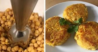 La semplicissima ricetta degli hamburger di ceci: proteici, gustosi e con pochissime calorie