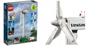 La LEGO sposa il sostenibile: dopo i mattoncini vegetali arriva la turbina eolica da costruire