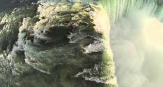Cataratas del Niagara desde un drone...emocion indescriptible!