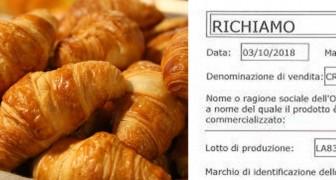 Cornetti alla crema: richiamato un lotto Bauli dal Ministero della Salute per rischio salmonella