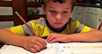 Voici pourquoi un enfant devrait toujours faire ses devoirs TOUT SEUL.