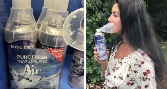 Respirare aria pura della Nuova Zelanda comodamente da casa: le bottiglie spray sono già in vendita