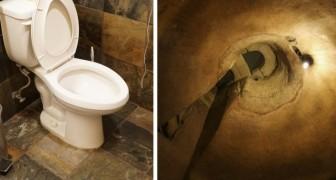 Inizia a scavare per riparare le tubature del bagno e scopre un tesoro di storia e archeologia