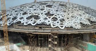Voici comment le Louvre d'Abu Dhabi a été construit : la vidéo de 8 ans de travail en quelques secondes