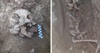 Scoperta in Italia la tomba di un bambino vampiro risalente a 1.550 anni fa