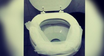 Do you also cover a public toilet with toilet paper? Here is why you should stop doing it immediately!