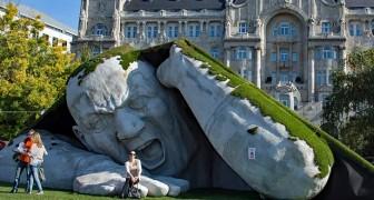 17 kreative Skulpturen, vor denen es unmöglich ist, gleichgültig zu bleiben.