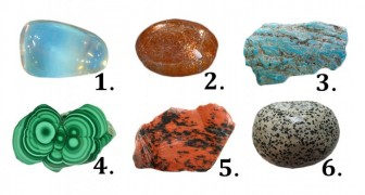 Choose a stone among these six ... and find out what it reveals about you!