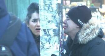 La lingua al palo ghiacciato