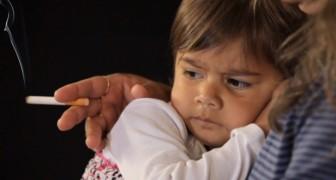 I figli dei fumatori esposti al fumo passivo fumano tra le 60 e le 150 sigarette all'anno