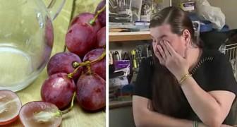 Um menino perde a vida por causa de uma semente de uva: a mãe mostra a todos os pais este risco