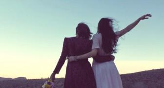 In der Freundschaft gibt es keine Notwendigkeit, sich jeden Tag zu sehen: Man kann auch weit entfernt voneinander sein und sich trotzdem nah sein