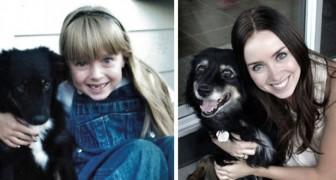 14 fotos maravillosas de personas que han crecido JUNTAS con su amigo de 4 patas