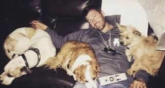 A quest'uomo non rimaneva molto da vivere, ma grazie a questi 3 cani avviene qualcosa di miracoloso