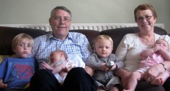 Porque los abuelos confunden a menudo los nombres de los hijos y de los nietos? Una explicacion hay...y es bellisima