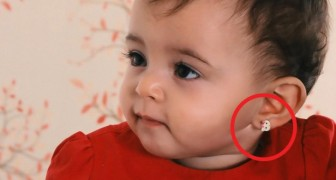 Fare i buchi alle orecchie delle bambine molto piccole non è una buona idea: ecco i motivi