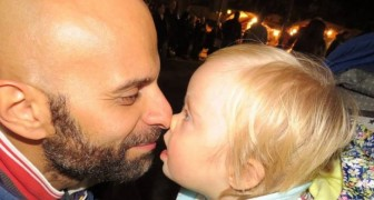 Luca, a single dad, adopts Alba who had been rejected by seven families because she has Down's Syndrome