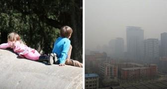 L'inquinamento dell'aria è collegato all'insorgere dell'autismo: lo rileva uno studio in una metropoli cinese