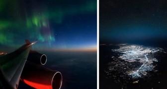 Un pilota di Boeing condivide le immagini che scatta durante i voli... e il risultato toglie il fiato