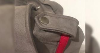 Una ragazza dice di aver scoperto l'utilizzo dei bottoni sulle spalle delle giacche: ci avevate mai pensato?