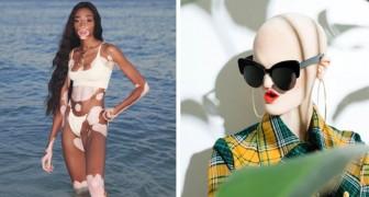 10 Models, die das Gesicht von Mode und Schönheit verändern.