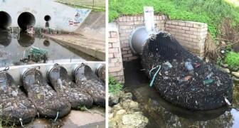 In Australia hanno trovato un modo per bloccare la diffusione della plastica nei fiumi, e tutti possiamo imitarlo