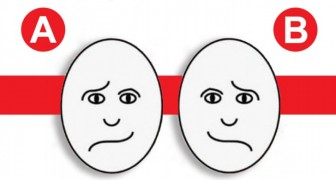 Qual rosto parece mais feliz? Este teste vai revelar algo sobre a sua personalidade