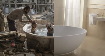 Un garçon crée des photomontages puissants qui montrent toutes les contradictions du monde moderne