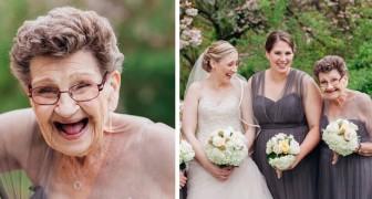 La sposa chiede alla nonna di farla da damigella... e il risultato è uno spettacolo!