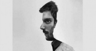A visual test --- Is the man in a frontal or profile position? The answer will reveal something about your personality