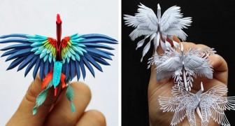 Questo artista porta l'arte degli origami ad un livello mai visto prima d'ora