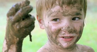 Un bambino sporco è un bambino sano