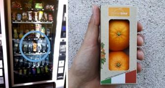 Clementine nei distributori automatici invece delle merendine: l'iniziativa di due giovani calabresi