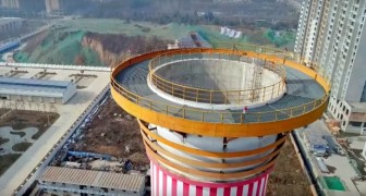 China hat den weltweit größten Luftreiniger gebaut