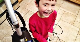 Door kinderen te betalen voor huishoudelijke klusjes leren ze wat het is om te worden beloond, niet om zichzelf nuttig te maken