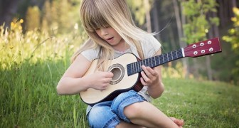 Take your young child's tablet away and give him or her a musical instrument