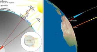 Così gli antichi greci dimostrarono la sfericità della Terra circa 2000 anni fa