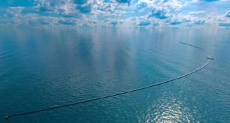Die Anlage zur Reinigung der Meere hat begonnen, aber nicht alles läuft wie geplant: Hier sind alle Details des Betriebs