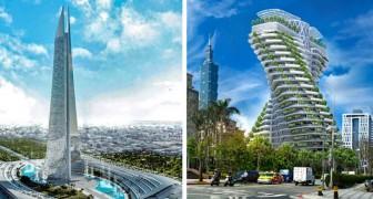 Die 12 futuristischsten Wolkenkratzer, die der Mensch je gebaut hat