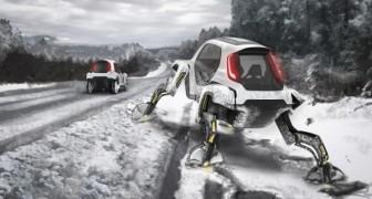 Hyundai hat das erste Projekt eines Autos mit Beinen vorgestellt