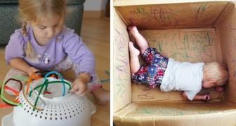 Geef geen godsvermogen uit aan speelgoed voor kinderen,want met deze 32 goedkope ideeën kunnen zij zich ook vermaken