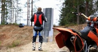 Insane motocross jump !