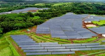 Die weltweit größte Photovoltaikanlage wurde gebaut... Die Energie entspricht 14 Millionen Liter Diesel pro Jahr