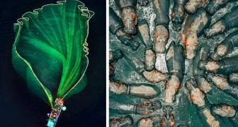 Einige der spektakulärsten Bilder, die von Drohnen im Jahr 2018 aufgenommen wurden