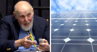 Uno dei vincitori di Nobel più anziani afferma che il suo nuovo imbuto solare potrebbe dare a tutti energia pulita ed economica