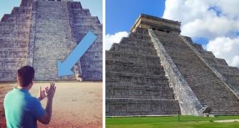 La misteriosa acustica della piramide Maya di Kukulkan: questo è il suono che si ottiene battendo le mani